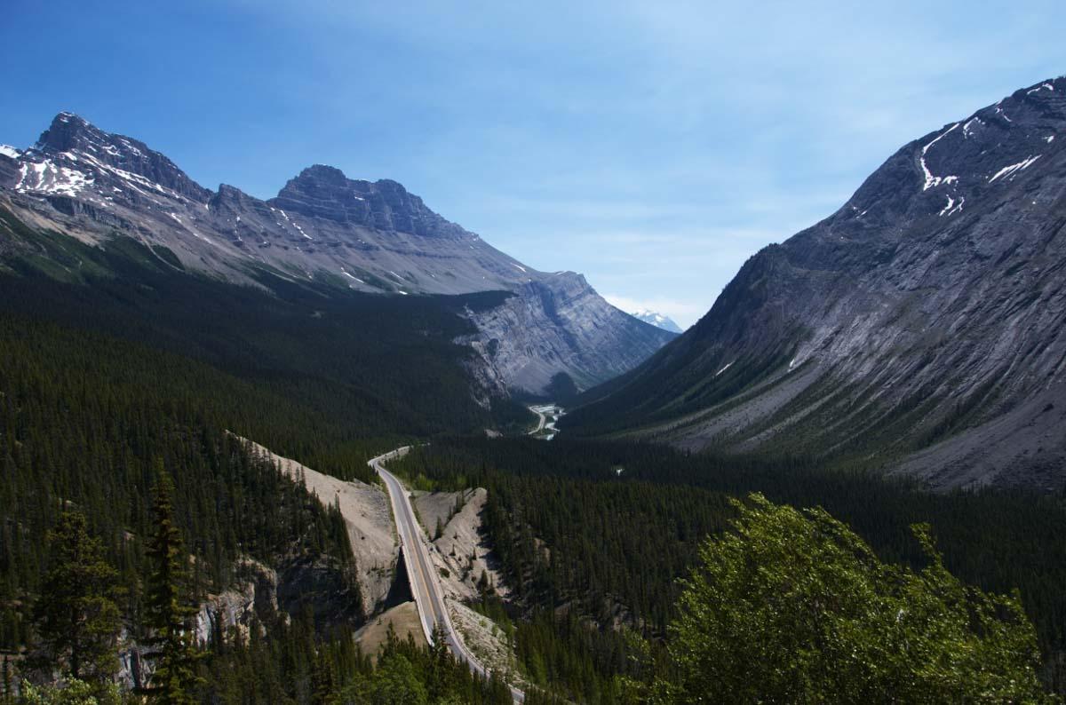 WH víza Kanada - hory