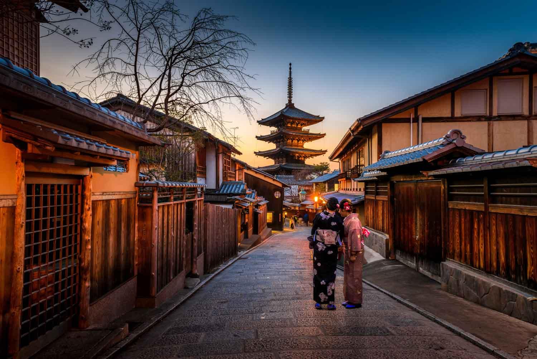 Pracovní dovolená v Japonsku