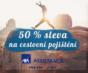 50 % sleva na pojištění Axa