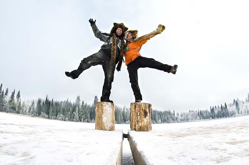 Martin a Janča - festival Jak do Kanady
