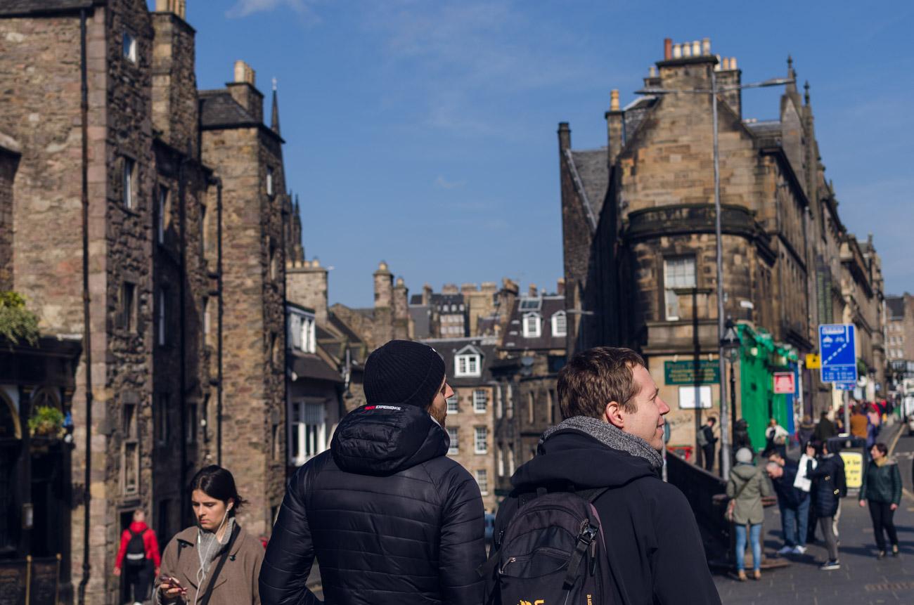 Rozhovor práce ve Skotsku - Edinburgh